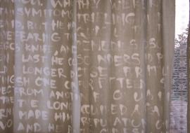 Tekstai ant užuolaidų, 2003.